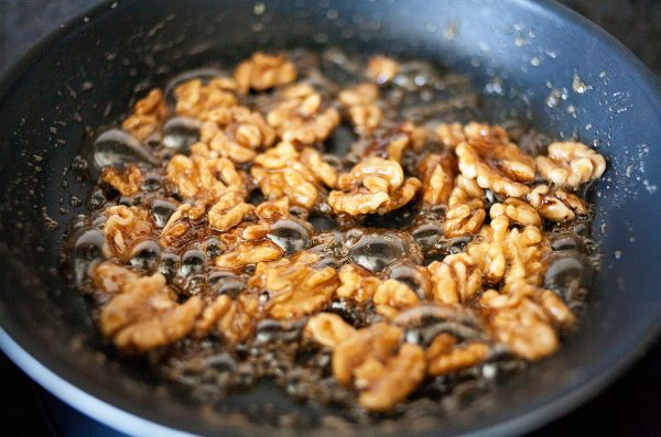 Five-Minute Caramelized Walnuts