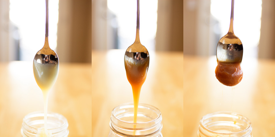 Homemade caramel sauce gets hard when you chill it. So is it possible to put homemade caramel sauce in your ice cream and freeze it and not have the caramel get as hard as a rock? This article reveals the surprising ingredient that can inhibit freezing so you can have your caramel and eat it, too!