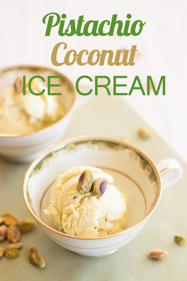 Pistachio Coconut Ice Cream by Ice Cream Inspiration