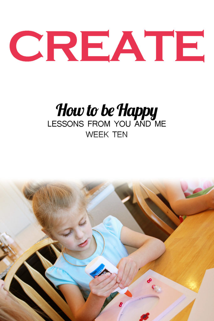Have you ever wondered why there are so many cooking, crafting, and DIY blogs? This article explores the reason why, and explains why creating is essential to our happiness! What do you create that makes you happy?