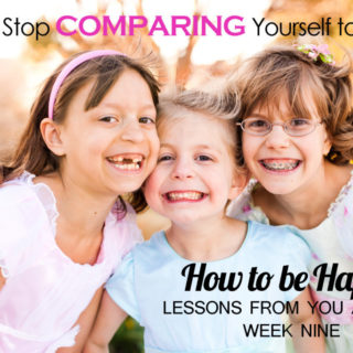 Do you want to stop sabotaging your happiness by constant comparisons? Click here to find out now how to end this shaming habit.
