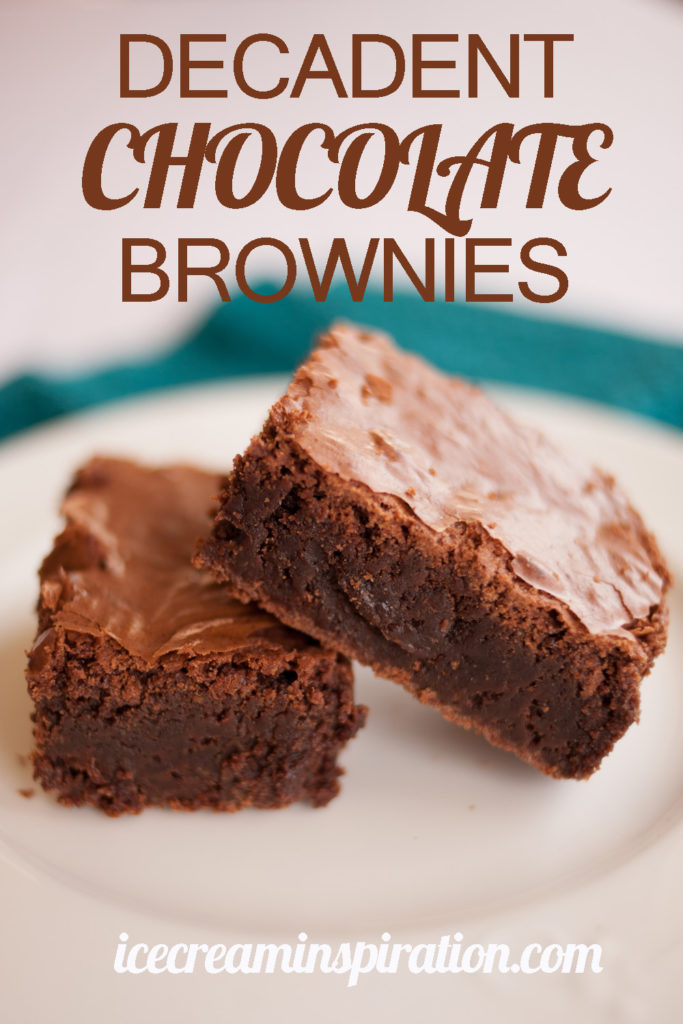 What do you get when you put five eggs in brownies? Only the most dense, delicious, decadent brownies of all time! Click to see what else makes these brownies so amazing!