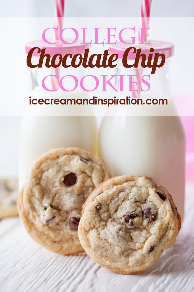 The PERFECT Chocolate Chip Cookie Recipe from my college days! This recipe makes a TON, and the cookies come out perfect, every time! Best chocolate chip cookie recipe ever!