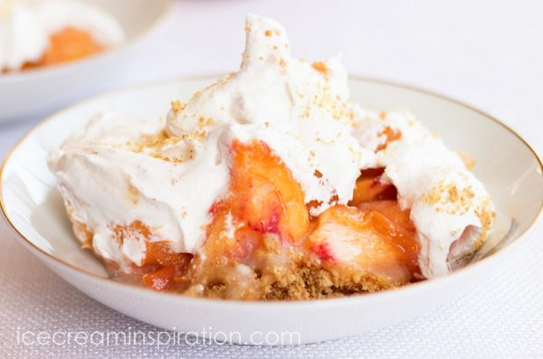 Award-winning Peach Torte