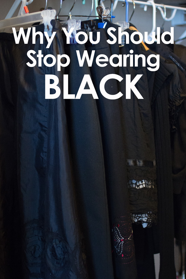 You might be surprised to know that only one type of person looks good in black. Are you that type of person?