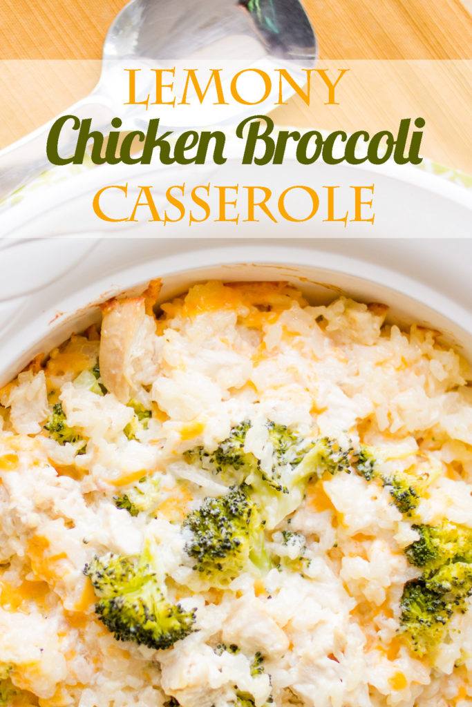 A crowd-pleasing favorite! Even the neighbor kids will like this Lemony Chicken Broccoli Casserole!