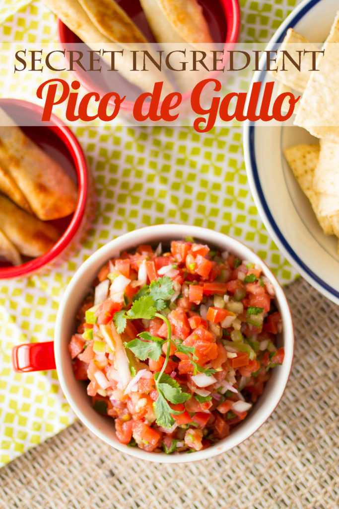 "Dump your ""safe"" pico de gallo and go crazy!"