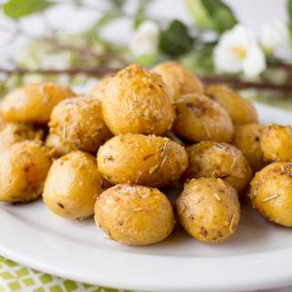 Roasted Rosemary Garlic Potatoes  by Ice  Cream Inspiration