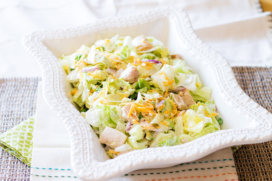 Tuna Salad by Ice Cream Inspiration. Tuna and salad at its finest.