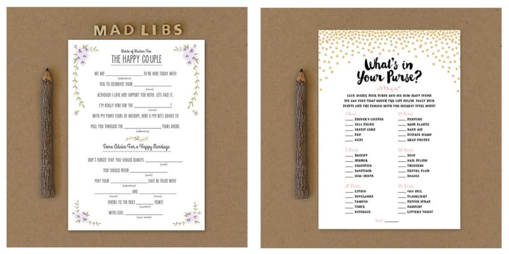 Basic Invite is your card company with fun wedding games, shower games, save the date cards, and more! See everything they have to offer!