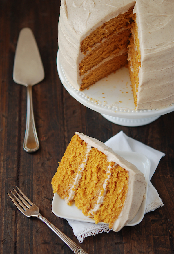 20 Amazing Pumpkin Cakes by Ice Cream Inspiration.