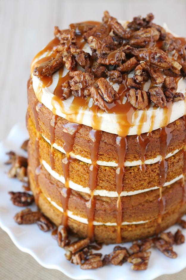 20 Amazing Pumpkin Cakes - Ice Cream and Inspiration