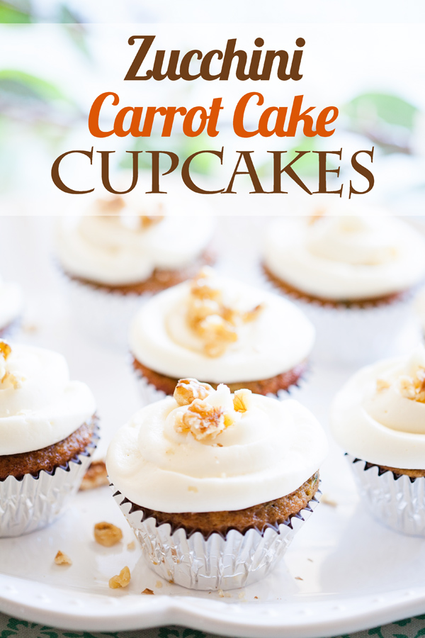 Zucchini Carrot Cake Cupcakes Ice Cream And Inspiration