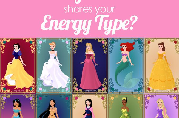 Which Disney Princess Shares Your Energy Type