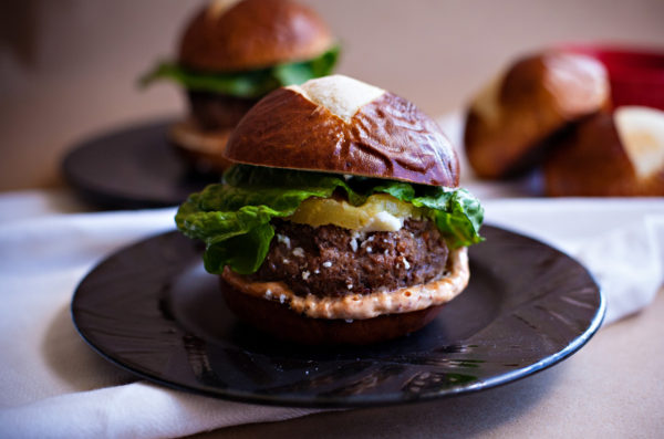 Pineapple Chipoltle Sliders