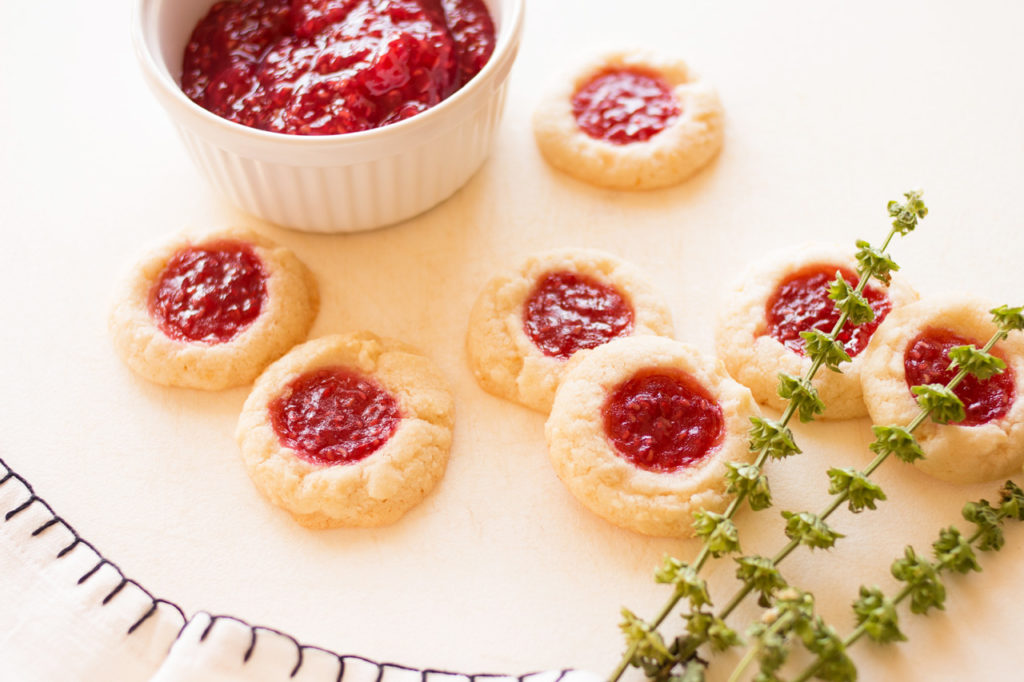 Raspberry Lemon Butter Cookies 1