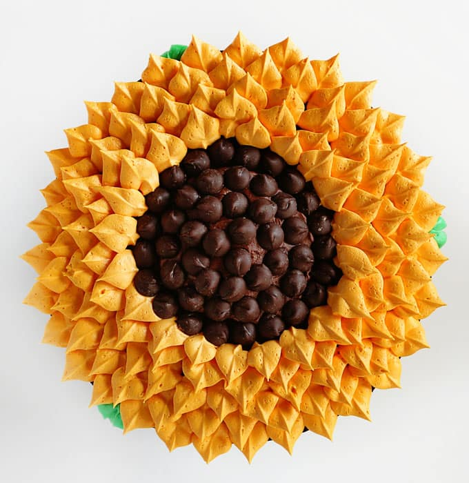 Sunflower Cake by I Am Baker. Amanda Rettke was one of the speakers at the Everything Food Conference 2017.