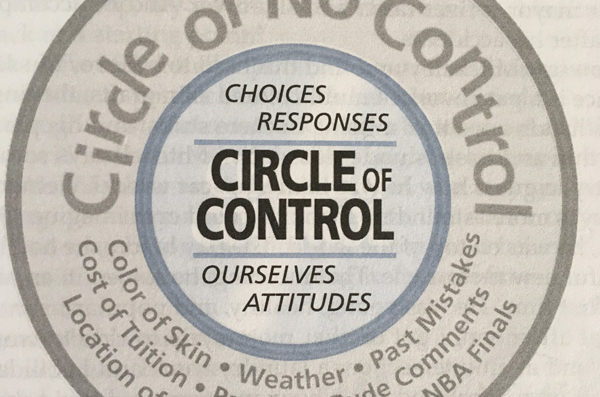 The Circle of No Control