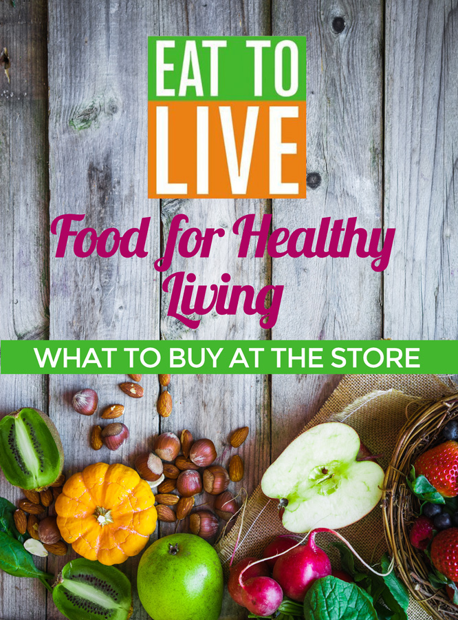 Want to know what to buy at the store when you are doing the Eat to Live plan? Here's a pictorial guide to tons of great, healthy foods you can pick up on your next shopping trip. If you want to try a nutritarian diet, reading this post is a must!
