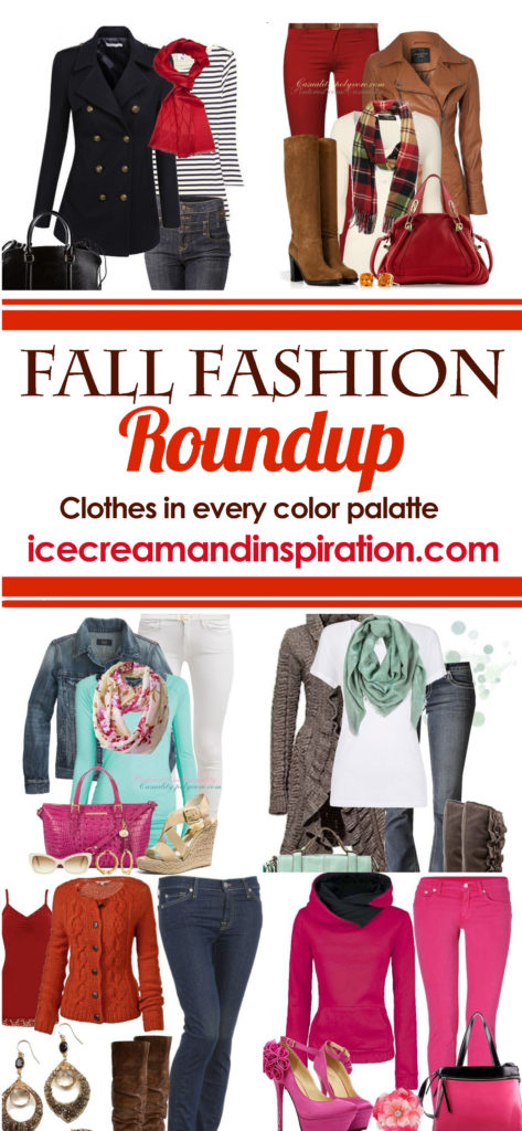 Find your true fashion this Fall with this roundup of ensembles in every color palatte for every type of woman! If you love DYT, you will love this! Dressing Your Truth.