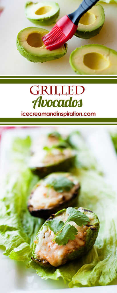 These easy Grilled Avocados are velvety-smooth and are filled with salsa and mozzarella cheese. The flavor combination is out of this world!