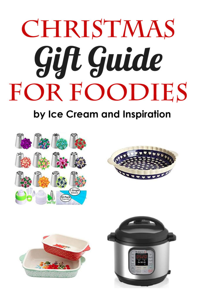 christmas gift guide for foodies ice cream and inspiration. Black Bedroom Furniture Sets. Home Design Ideas