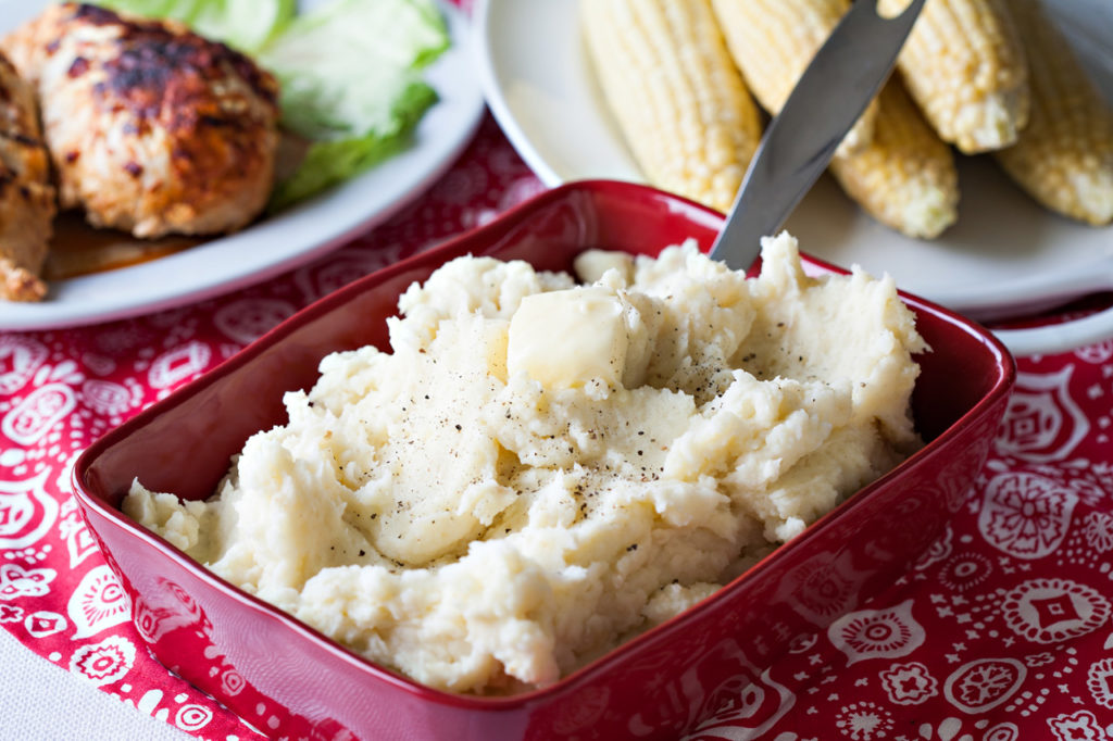 Garlic Mashed Potatoes from Cook's Country.