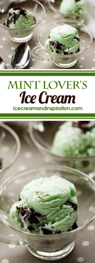 Want an amazing mint ice cream recipe? Make this Mint Lover's Ice Cream using peppermint essential oil. The best Mint Oreo Ice Cream you will ever have! Mint Chip Ice Cream, Mint Ice Cream, Peppermint Ice Cream, Mint Cookie Ice Cream, Saint Patrick's Day Desserts