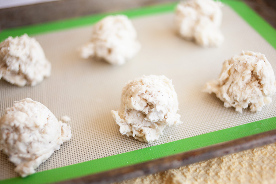 Cracked Black Pepper Biscuit Dough by Ice Cream Inspiration