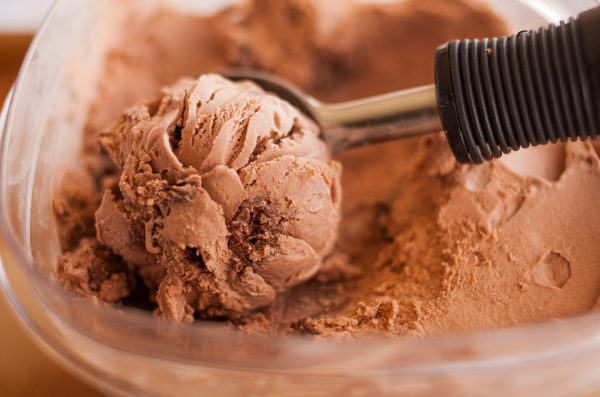 Chocolate Brownie Chunk Ice Cream