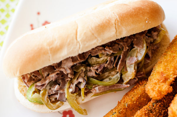 Easy Cheesesteak Sandwiches