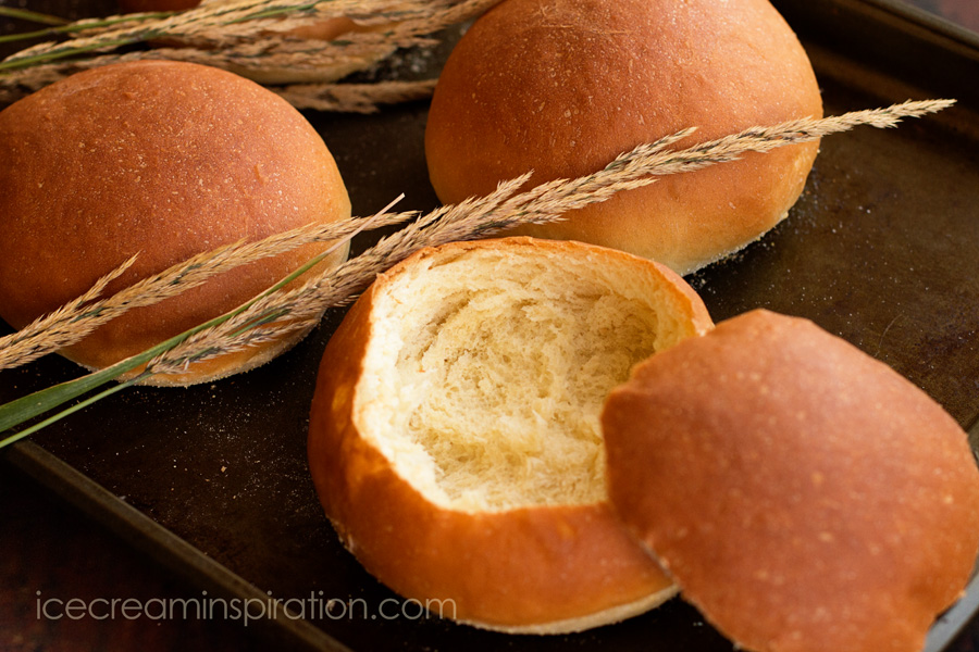 Easy and delicious, these bread bowls elevate your meal to something lovely and elegant. Perfect for any time of year!