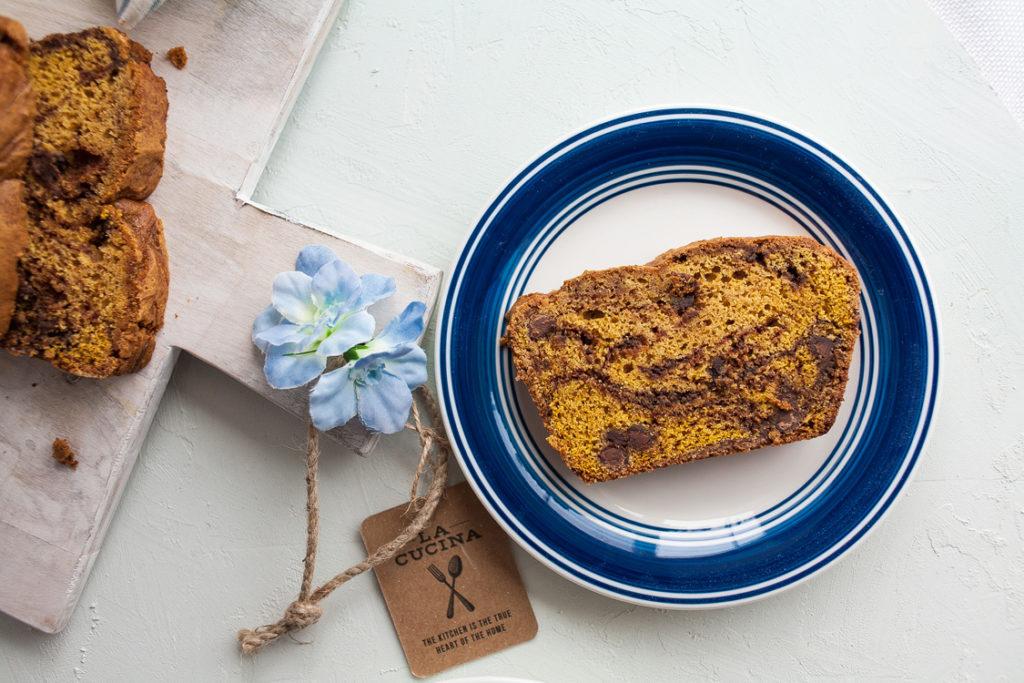 Chocolate Swirl Pumpkin Bread