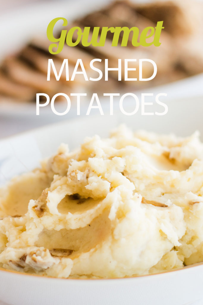 Find out the secret to making restaurant-worthy gourmet mashed potatoes. It's actually easier than making traditional mashed potatoes!