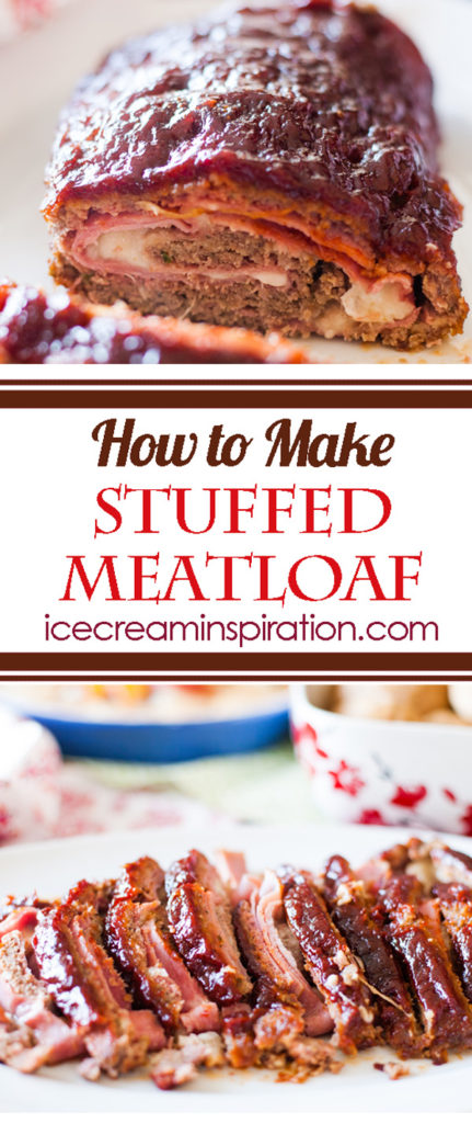 How to Make Stuffed Meatloaf. Sunday dinner just got awesome!