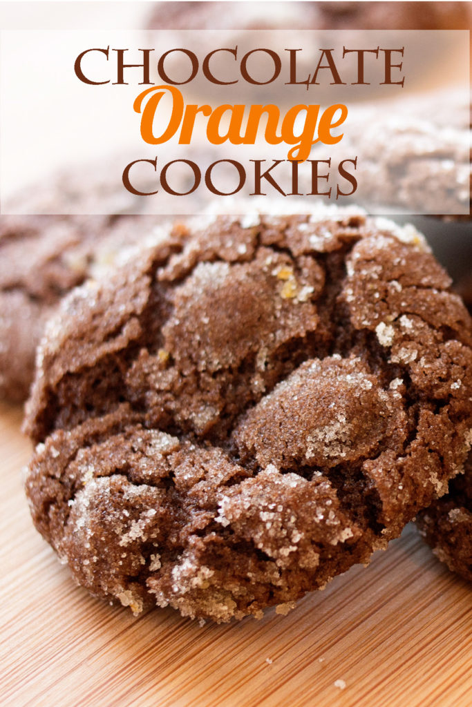 Crinkly chocolate cookies with tangy orange zest. A magical flavor combination you have to try!