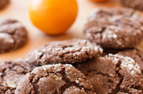 Chocolate Orange Cookies and the Great Food Blogger Cookie Swap