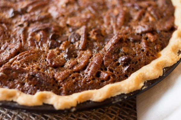 Chocolate Pecan Pie–AKA the Best Pie Ever Devised by Man