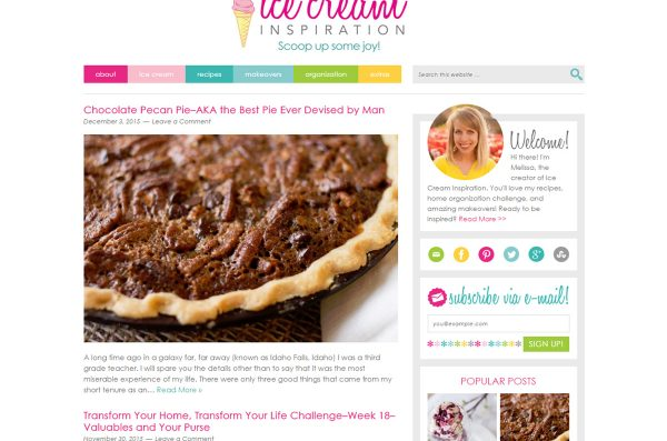 Welcome to My New Blog! Plus, Ice Cream Flavor Winners Announced!