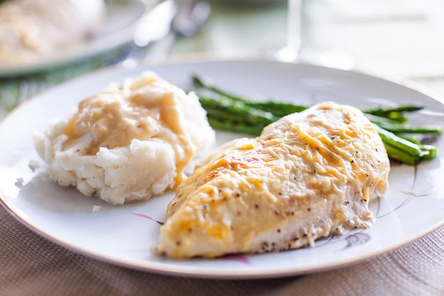 Creamy Lemon Chicken by Ice Cream Inspiration. Your new favorite chicken recipe!