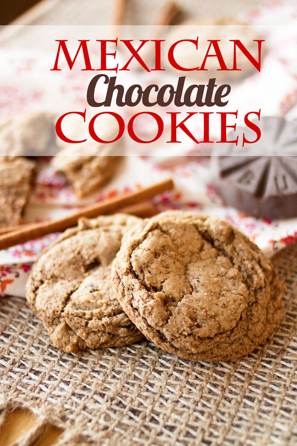 Mexican Chocolate Cookies by Ice Cream Inspiration