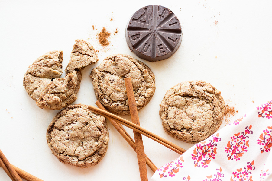 Mexican Chocolate Cookies made with real Mexican chocolate, cinnamon, and cream cheese! You have to try these!