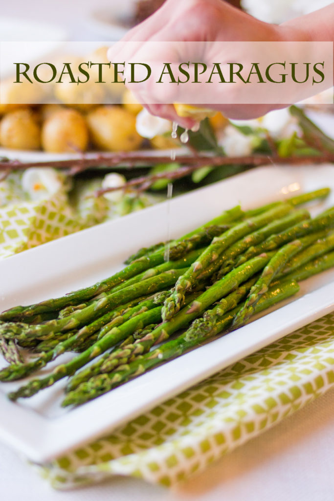 Roasted Asparagus by Ice Cream Inspiration