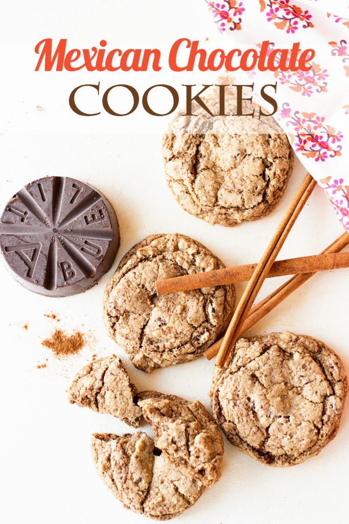 Mexican Chocolate Cookies by Ice Cream Inspiration. Add some real Mexican chocolate, a dash of cinnamon and a pinch of cayenne to make these cookies something special!
