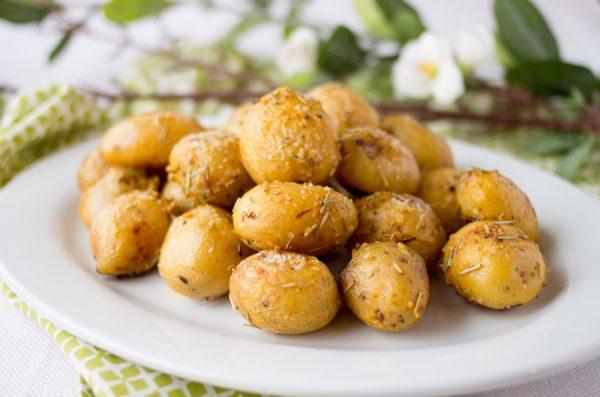 Roasted Rosemary Garlic Potatoes