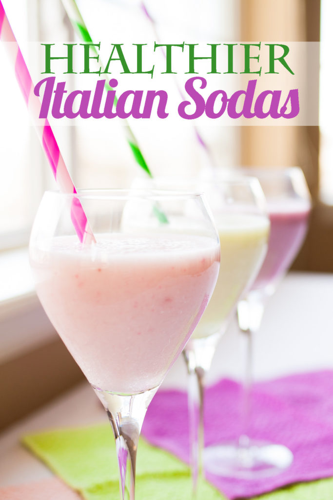 These Healthier Italian Sodas are made with only two ingredients and are shockingly delicious!