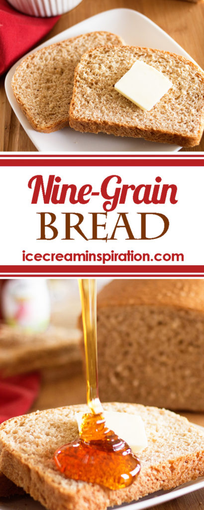 9-grain Bread by Ice Cream Inspiration. Lots of fiber and lots of flavor! Your new favorite bread!