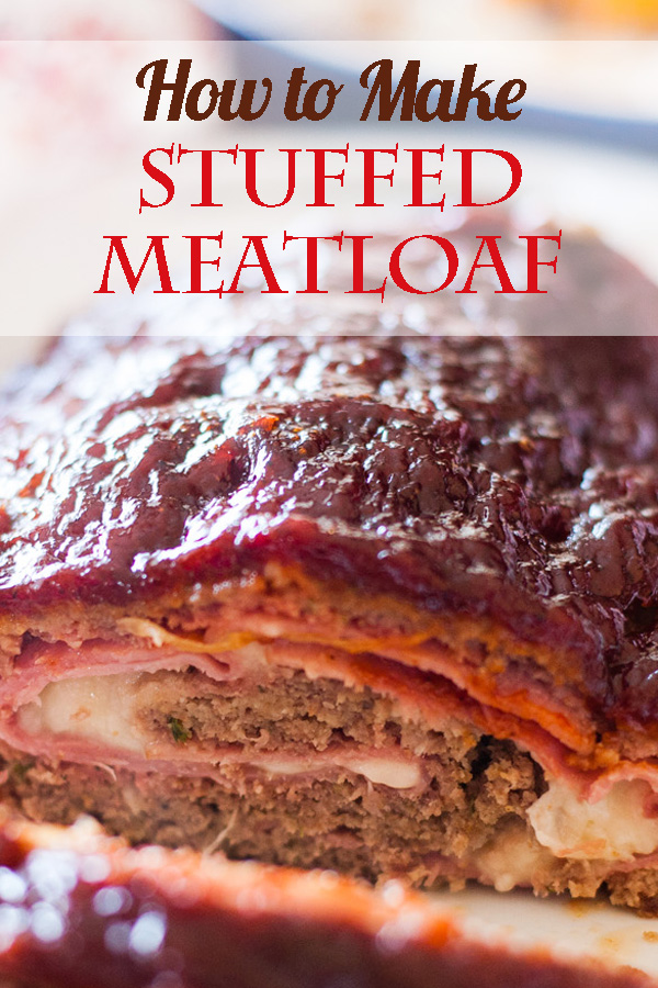 How to Make Stuffed Meatloaf. Get out the ham and cheese! It's like Meatloaf Cordon Bleu!