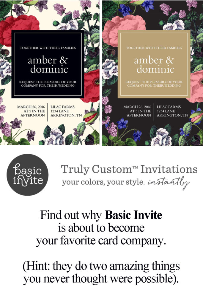 Basic Invite Customized Cards. Your best card company for Wedding Invitations, Graduation Invitations, Baby Announcements, Bar Mitzvah Invitations, Christmas Cards, and more!