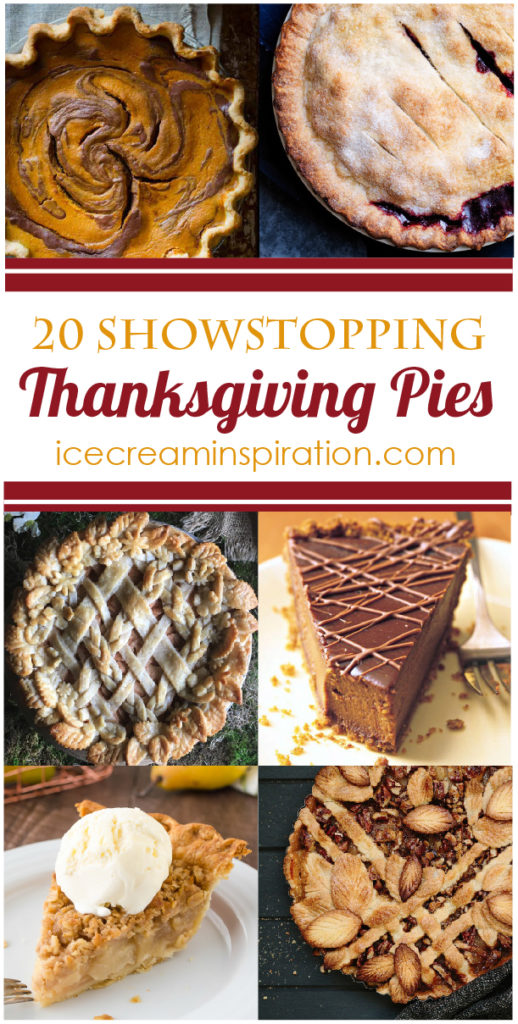 All the best Thanksgiving pies in one place! Pumpkin Pie, Cranberry Pie, Pear Pie, Walnut Pie, and many more!